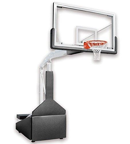 最初チームハリケーンtriumph-fl steel-glass公式サイズポータブルバスケットボールsystem44 ;スカーレット B00ADWPZAA