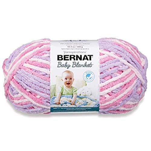 Bernat Baby Blanket Big Ball Pretty Girl