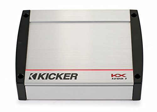 Kicker 40KX12001 Mono 1200 Watt Amplifier