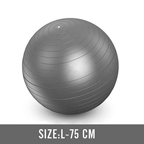 NIUPAN 75 cm d'épaisseur Pilates Yoga Yoga Ball Pilates Fitness Gym Balance Exercise Workout Stabilité Ballon de Yoga