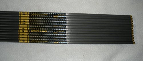 Gold Tip Pro Hunter 5575/400 Carbon Arrow Shafts 1 Dz. (Carbon 5575)