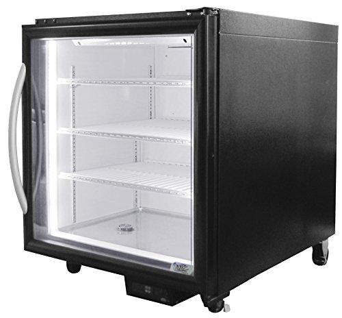 Minus Forty Technologies 07 CSGF 00 Single Glass Door Under Counter Freezer  Merchandiser By