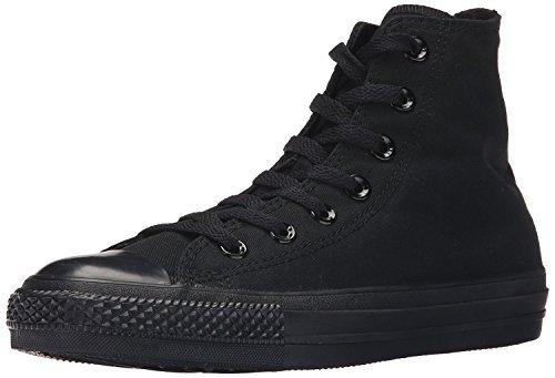 Converse Unisex Chuck Taylor All Star Hi Top Mono Black Sneaker 7.5 Converse Chucks Hi