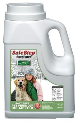 Safe Step 56708 8Lb Jug Safe Step Eco Platinum Series Sure Paws Ice Melter ()