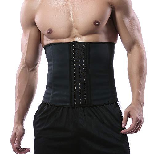 Hanmeimei Waist Trimmer Belt Slim Body Sweat Wrap for Stomach and Back Lumbar Support