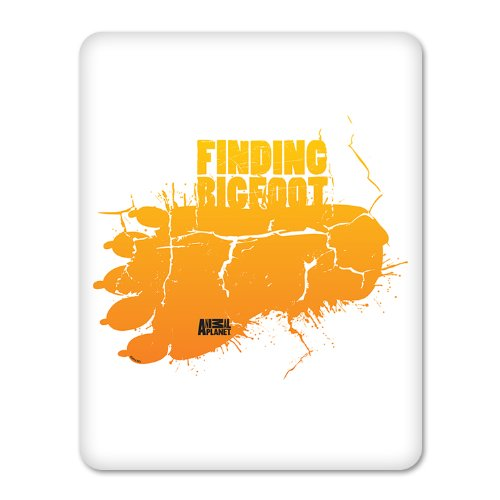 Finding Bigfoot Footprint iPad Case