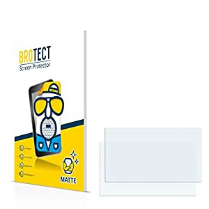 2x BROTECT Matte Protector Pantalla para Garmin nüvi 2598LMT-D 2598LMT Protector Mate, Película Antireflejos