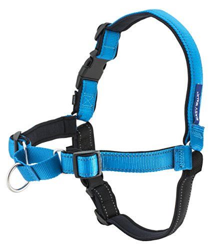PetSafe Deluxe Easy Walk Harness, Large, Ocean (Premier Tug)