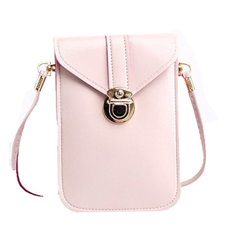 Leather Handbags Crossbody Shoulder Cellphone product image