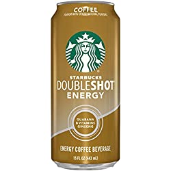 Starbucks Doubleshot Energy Drink, Coffee,15 Ounce Cans, 12 Count