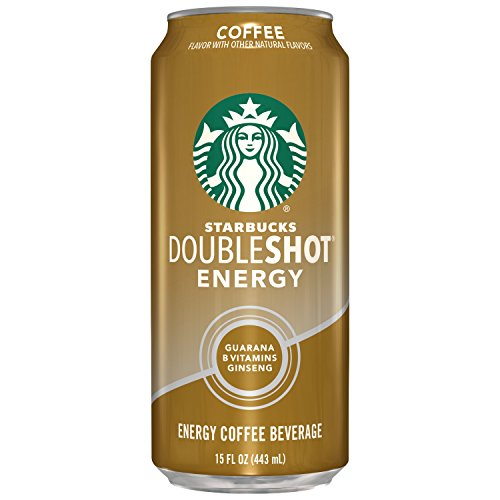 Starbucks Doubleshot Energy Coffee, Coffee, 15 Ounce Cans (12 Count)