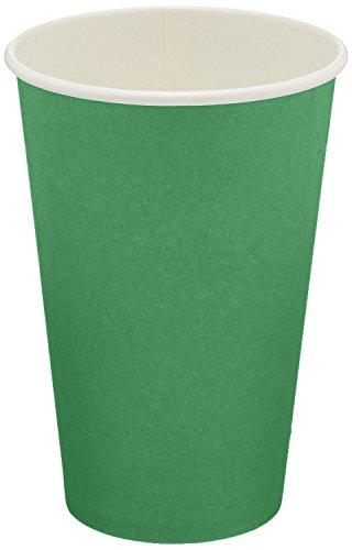 Jubilee 12-Ounce Paper Cups, 40 Count, Green - Jubilee Green