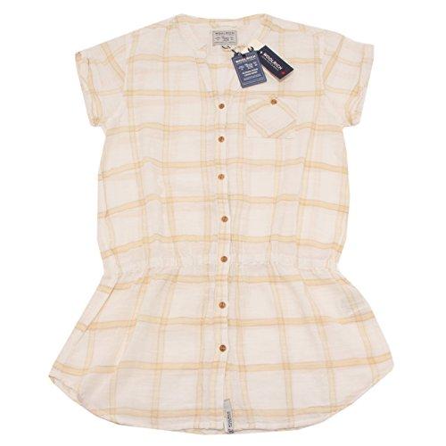 Woman beige Corta Woolrich Shirt Camicia Panna Manica 2461p Donna 8wBgxx