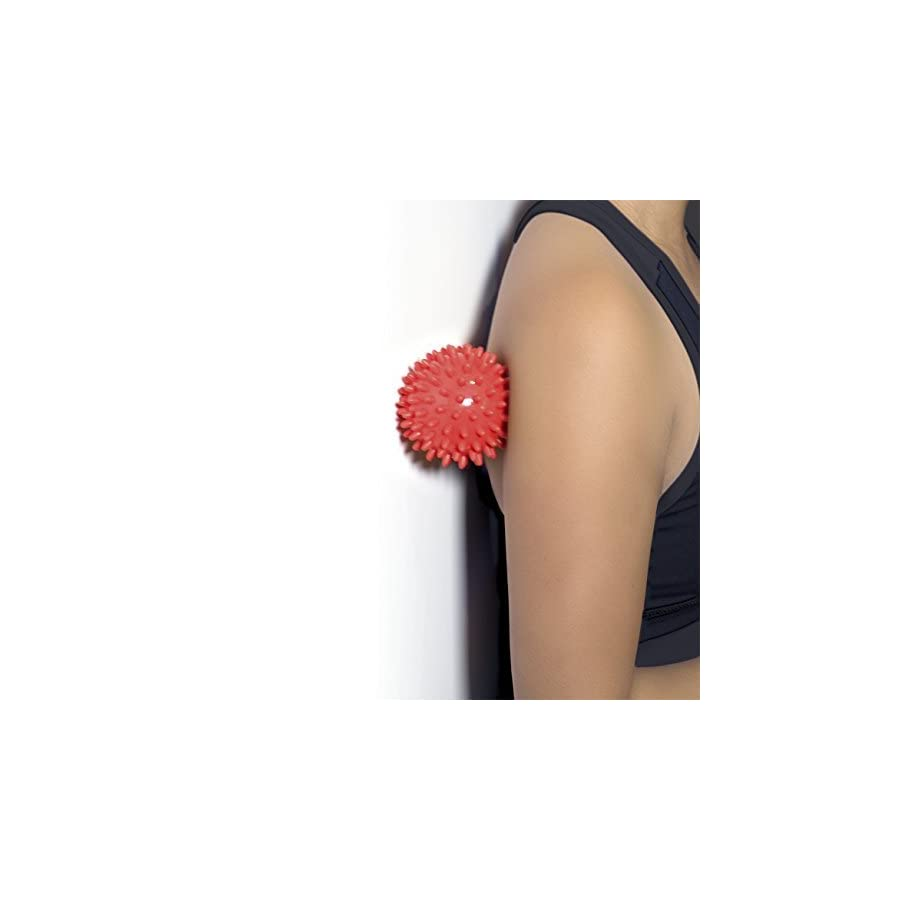 Massage Ball Spiky for Deep Tissue Back Massage, Foot Massager, Plantar Fasciitis & All Over Body Deep Tissue Muscle Therapy Your Compact Muscle Roller