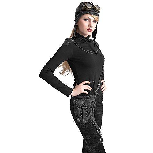 de Bolso Retro Viaje Steampunk Vintage Mujer Arley Estilo para Viaje Mano de Mini Bolsa Bolsa de gótica multifunción de Bolso Viaje Hombro Bolsillos Bandolera Bolso Bolso de de Bolsa 65qYwZdnxq