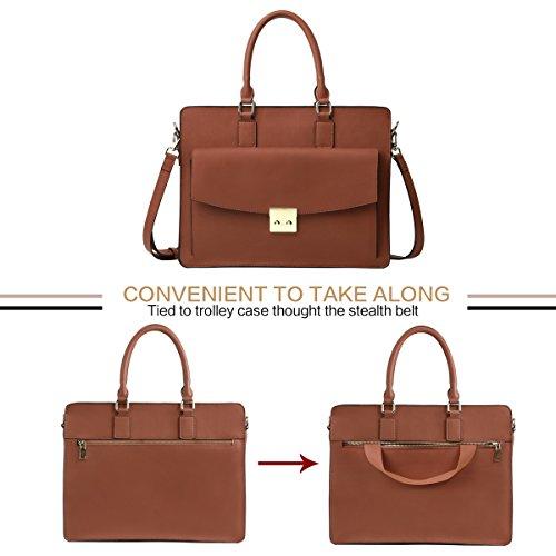 document Leathario porte en Brun sac à véritable sac sac femme main en bandoulière cuir cuir qUtFUr