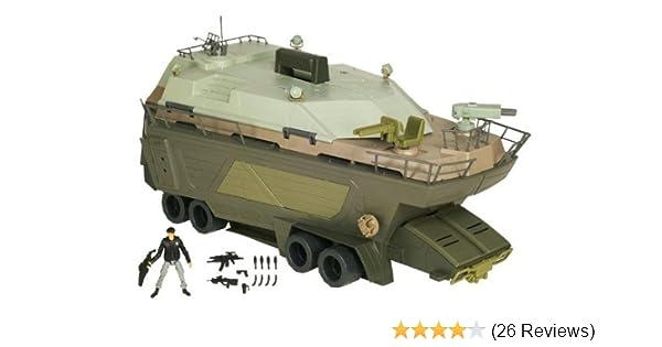 Amazon Com Gi Joe Movie Pit Mobile Hq With Hawk V1 Black Jacket Toys Games