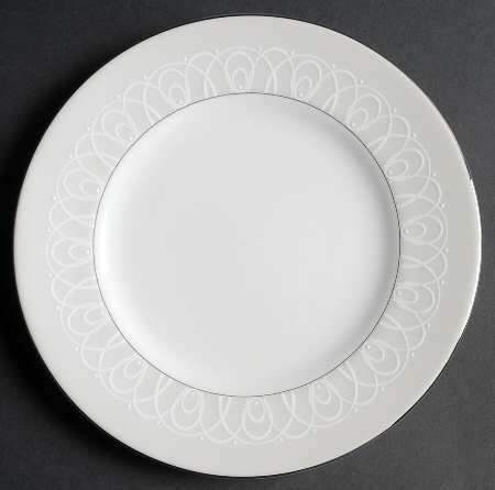 Waterford Ballet Icing-Pearl Salad Plate, Fine China Dinnerware ()