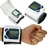 Digital LCD Wrist Blood Pressure Monitor & Heart Beat Rate Pulse Meter Measure by Youngstore