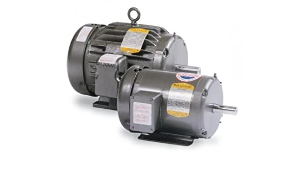 208-230V//460V 3PH 3450 RPM WITH BASE AC MOTOR 56C//TEFC 1HP