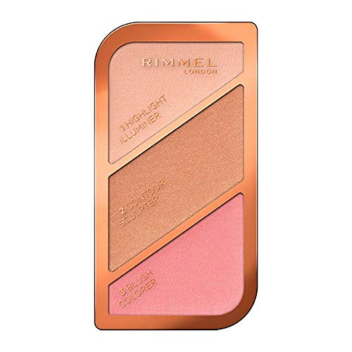 🥇 Rimmel London Kate Sculpting Palette Paleta de Maquillaje Tono 1 Golden Sands