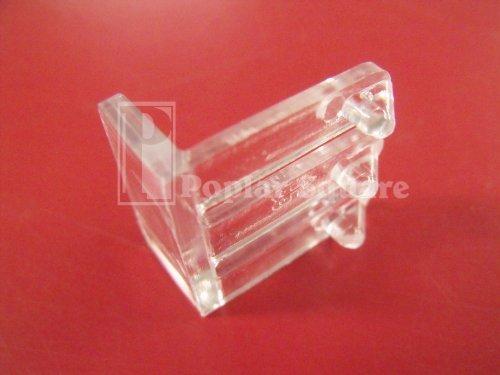 Dummy Panel - Clear Plastic False Front Clips #1931CL (4 Clips)