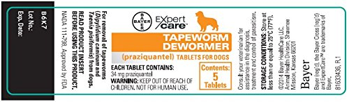 Bayer Tapeworm Dewormer For Dogs Reviews