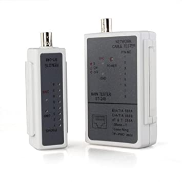COLEMETER® Tester Comprobador Cable RJ45 BNC Coaxial Tel¨¦fono Network LAN