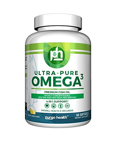 Purgo Health Ultra Pure Omega-3 Premium Fish Oil – 60 count Review