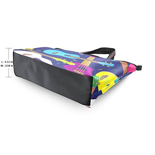 Del Grande De Alaza Totalizador Pop Hombro Bolso Colorido Hawai Ukulele 6f5S5qac