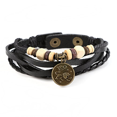JewelrieShop Genuine Bracelet Horoscope Constellation