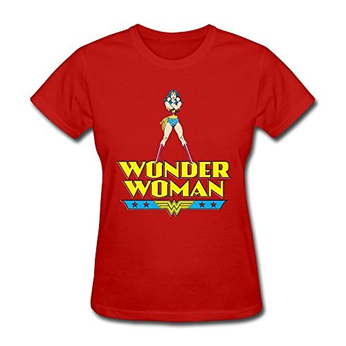 AOPO Wonder Woman WW LOGO Tshirts For Women XX-Large (Halloween Costumes Seattle)