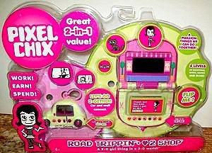 Mattel Pixel Chix Road Trippin Car with Love to Shop Mall 2 in 1 Value Set Interactive Talking Toy