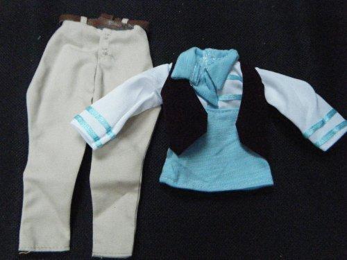 Gi Poupée catz Ken pantalons Chemise Fat Vêtement Bleu De Homme D'action Posté amp; Par Londres Jeans Joe EccC4q