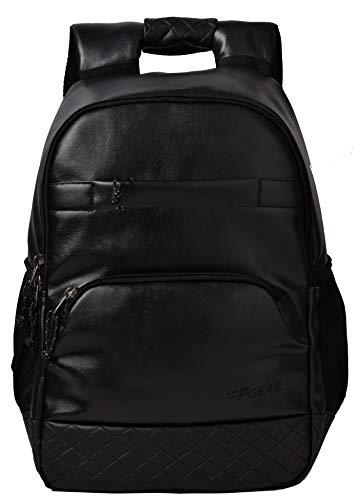 F Gear Luxur Anti Theft 25 Liters Laptop Backpack (Black)
