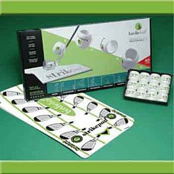 Birdie Ball Set with Strikepad - 12 Pack