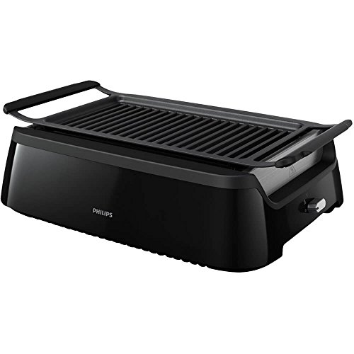 Philips Indoor Smokeless Grill - Black