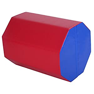 "Goplus 25 "" x 30"" Gymnastics Mat Octagon Tumbler Skill Shape Exercise Preschool Kids Gym"