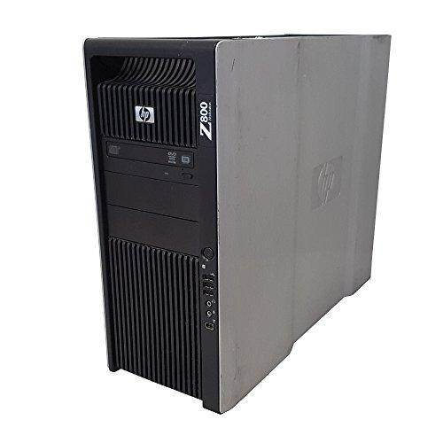 HP Z800 Workstation Intel Xeon 12 Core 2.93GHz 96GB RAM 2TB Hard Drive NVIDIA Quadro 4000 Graphics Windows 10 Pro 64-bit