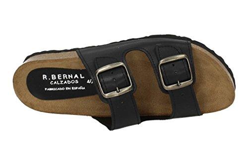 BERNAL Sandalen RUIZ 412 Schwarz Herren FxqTwH