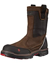 Wolverine Mens Overman Nano Toe 10 inch Waterproof Contour Welt Work Boot