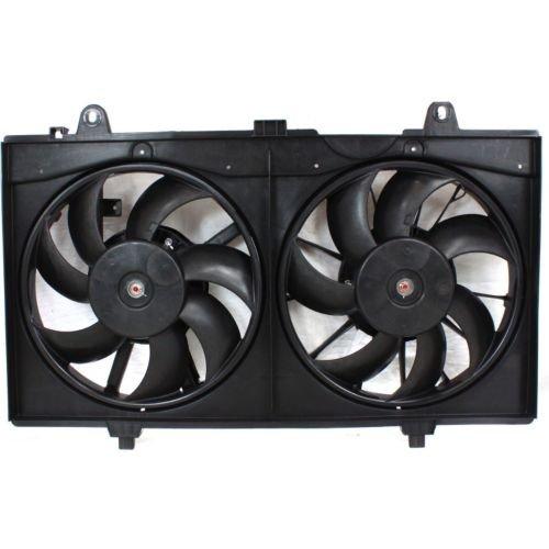 Perfect Fit Group ARBN160902 - Sentra Radiator Fan Shroud Assembly, Dual Fan, Sr/ Se-R/ Se-R Spec V Models ()