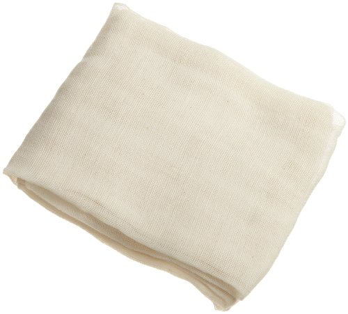 - Regency Natural Ultra Fine Cheesecloth for Straining, Basting, and Making Kombucha, Cheese and Nut Milk, 9 sq. ft