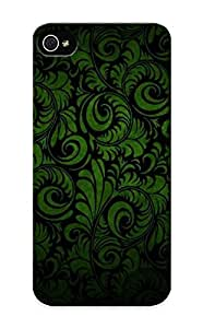 40ee4973 New Premium Flip Case Cover Green Vintage Pattern Skin Case For Iphone 5/5s As Christmas's Gift