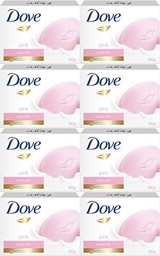 Dove Pink Beauty Cream Bar Soap, 100 Gram / 3.5 Ounce Bars (Pack of 8) -
