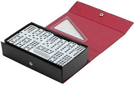 Jumbo Size Double Nine Dominoes Set Two Tone Tiles