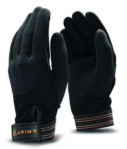 Ariat Unisex Insulated Tek Grip 10 R Black