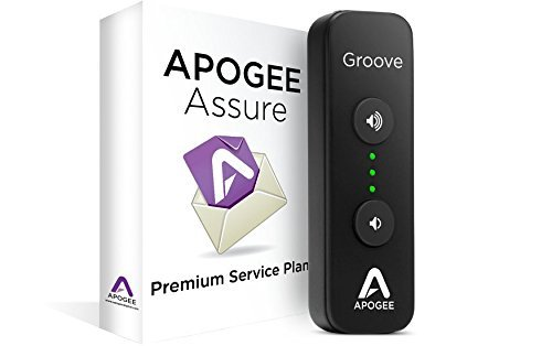Apogee GROOVE+AA3 Portable USB DAC & Headphone Amplifier with 3 Year Assure Premium Service Plan [並行輸入品]   B078J21HRS