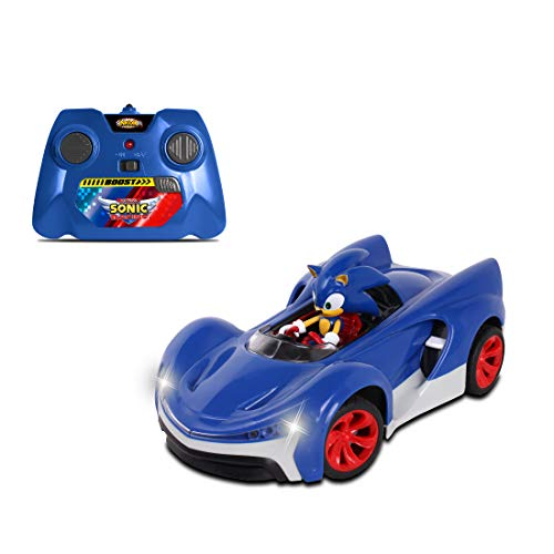 (NKOK Team Sonic Racing 2.4Ghz Remote Controlled Car with Turbo Boost - Sonic The Hedgehog, Abstract/Abstract)