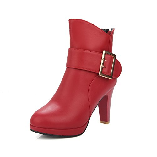 con Red Rosso Zeppa EU ABL10498 5 35 Donna Sandali BalaMasaAbl10498 w5FqxOR7X